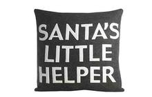 Santa's Little Helper Pillow
