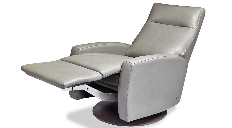 Circle Furniture Eva Comfort Recliner Leather