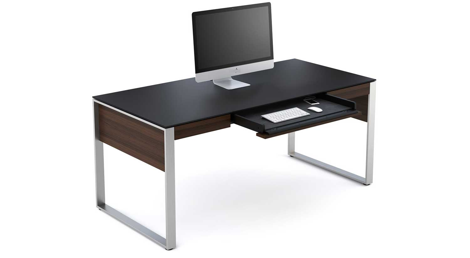 Circle Furniture Sequel Executive Desk Wire Managment