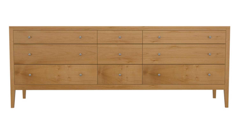 Circle Furniture Franklin Nine Drawer Dresser Hardwood