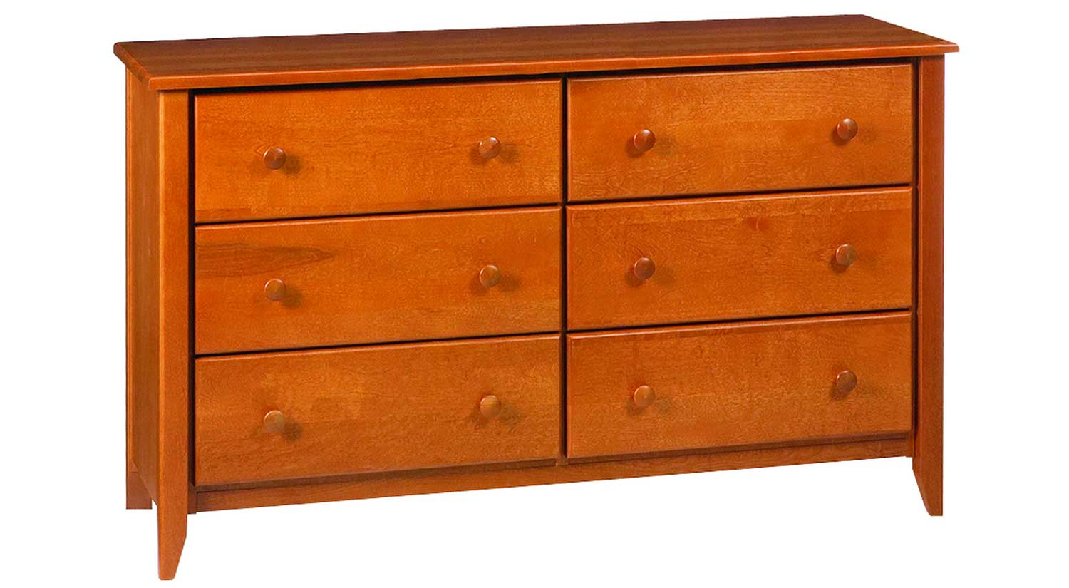 circle furniture rossport small 6 drawer dresser wood furniture