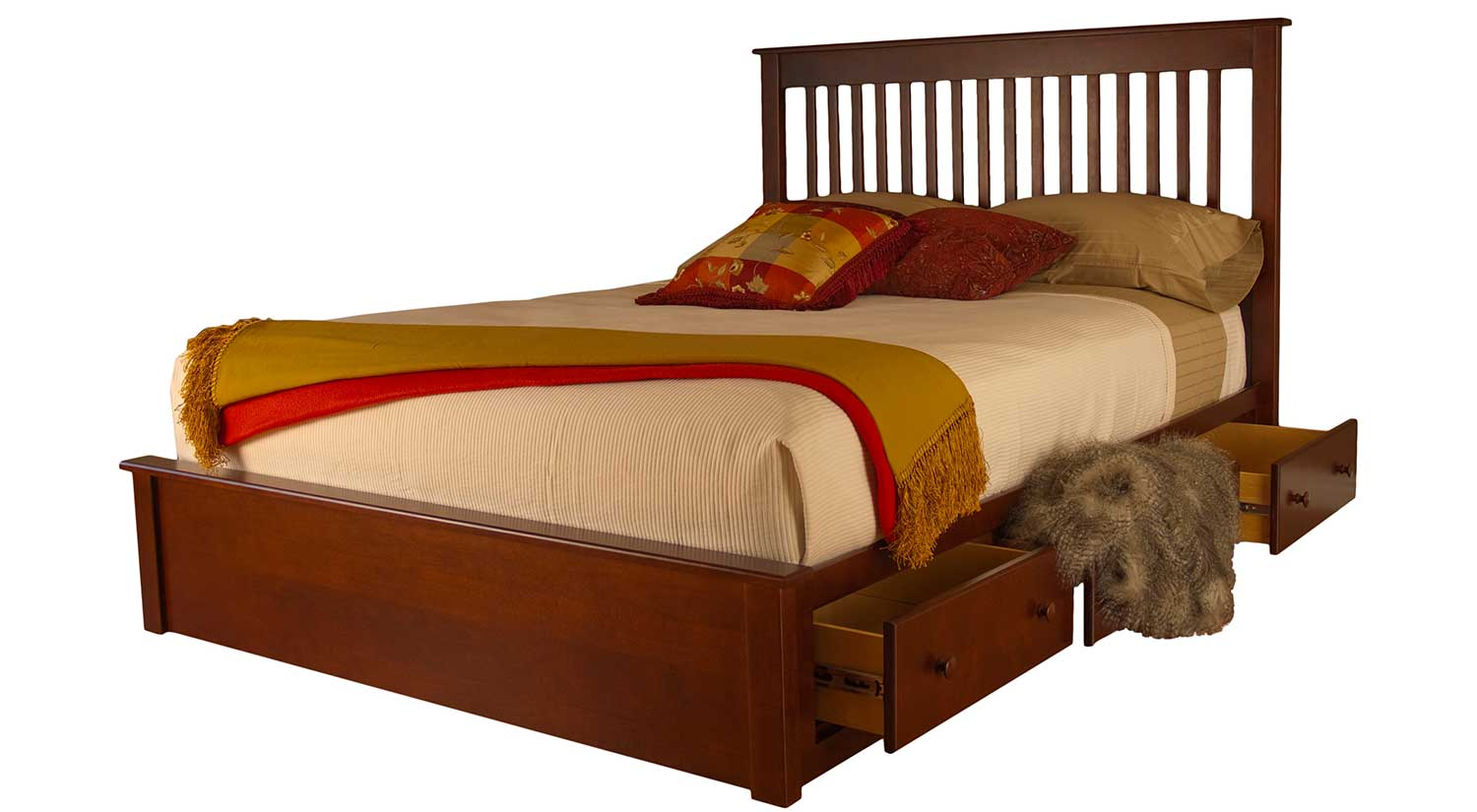 Circle Furniture Rossport Queen Storage Bed
