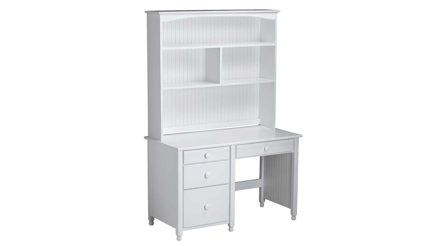 Youth Desk With Hutch White Jenny Lind Spindle Desk U0026