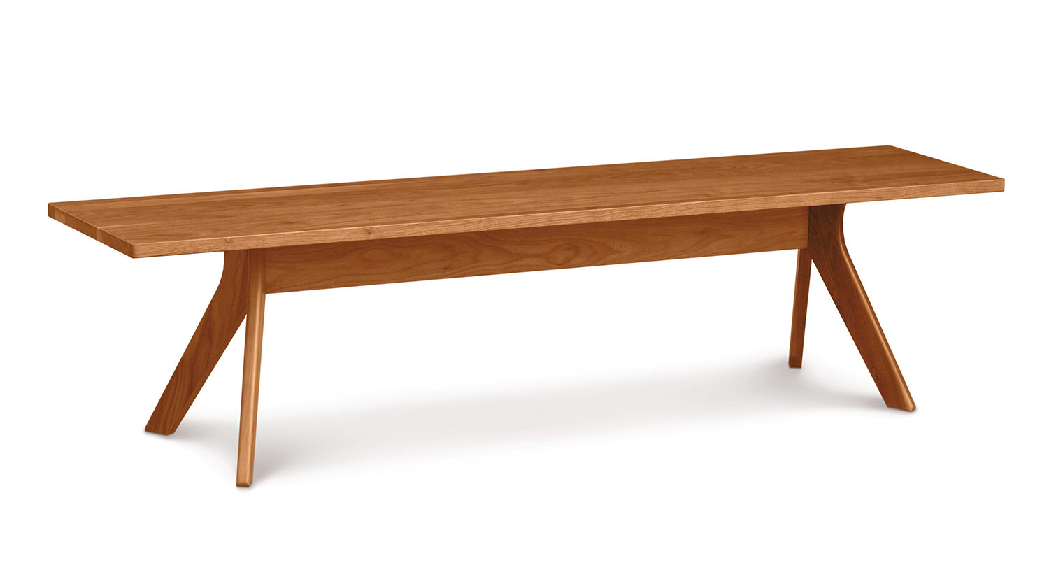 Circle Furniture Dining Bench Solid Cherry Solid Walnut Circle Furniture