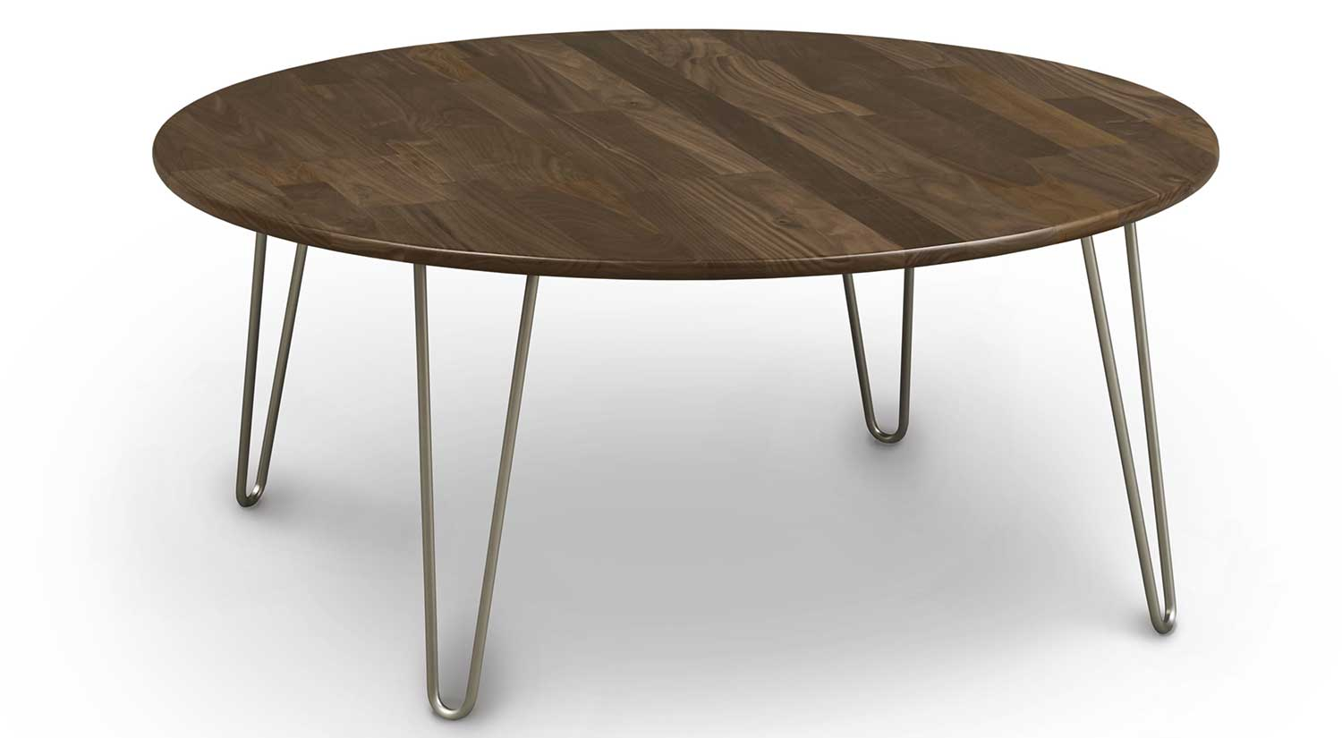 Circle Furniture - Essential Cocktail Table  Solid Walnut ...