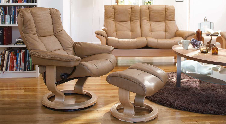 Circle Furniture Buckingham Stressless Highback Sofa