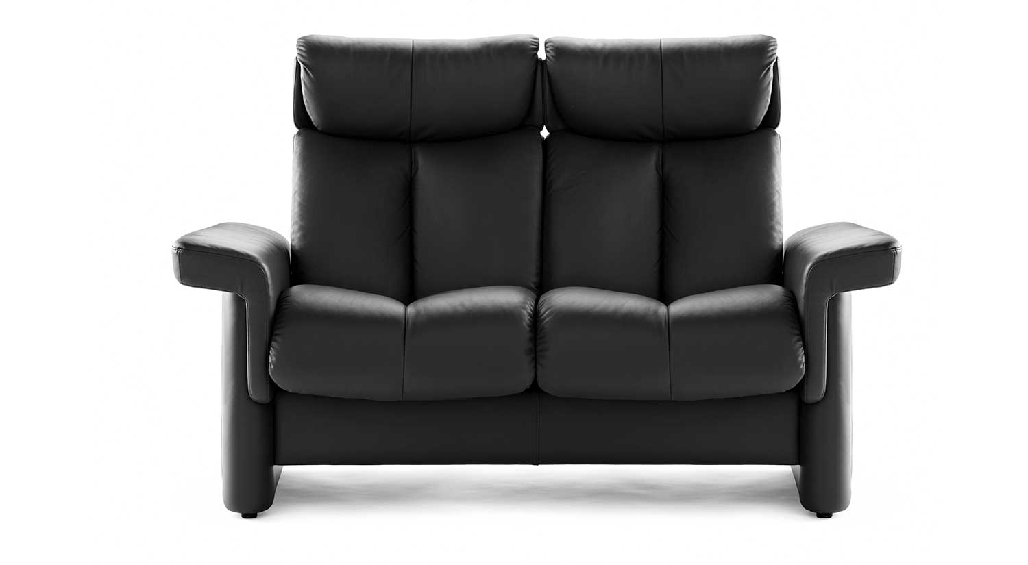 Circle Furniture Legend Stressless Highback Loveseat Home Theater Ma