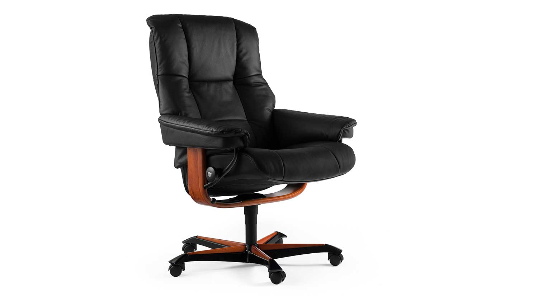 Circle Furniture - Stressless Mayfair Office Chair ...