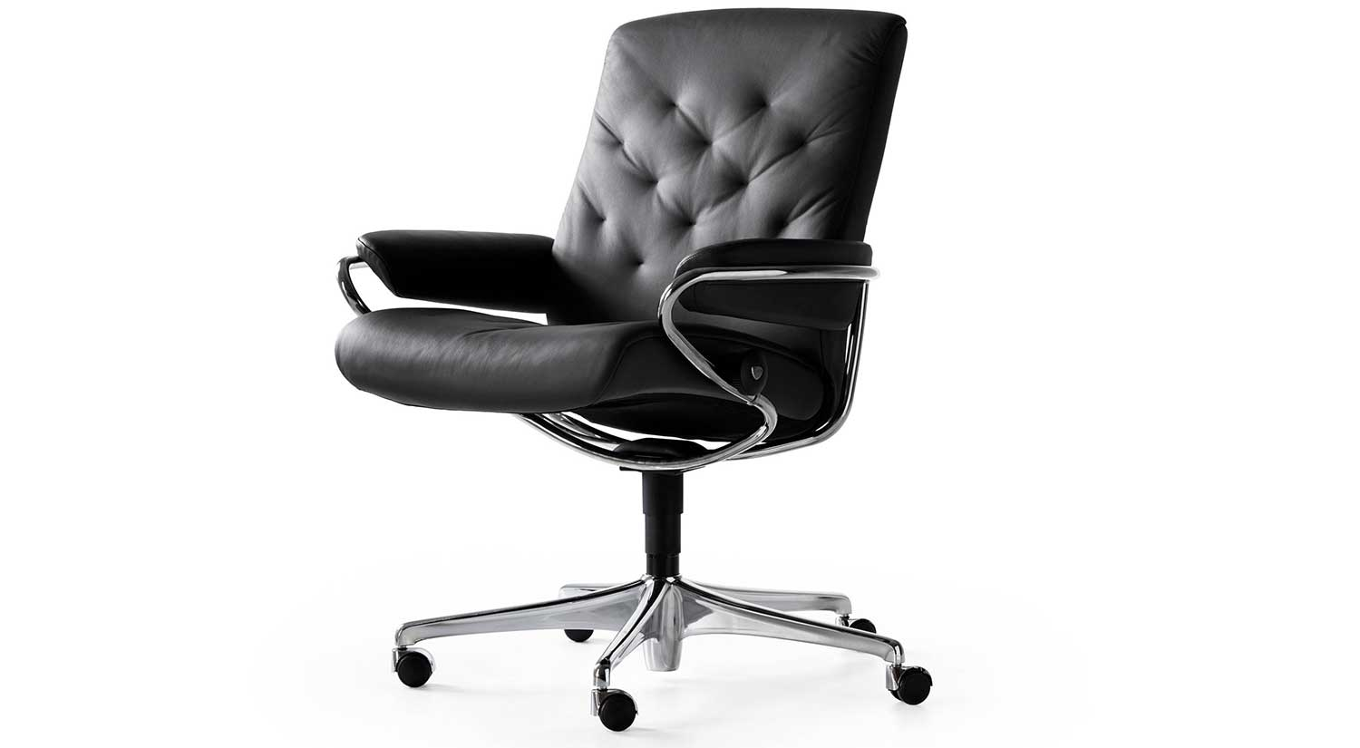 Circle Furniture Metro Lowback Office Chair Stressless