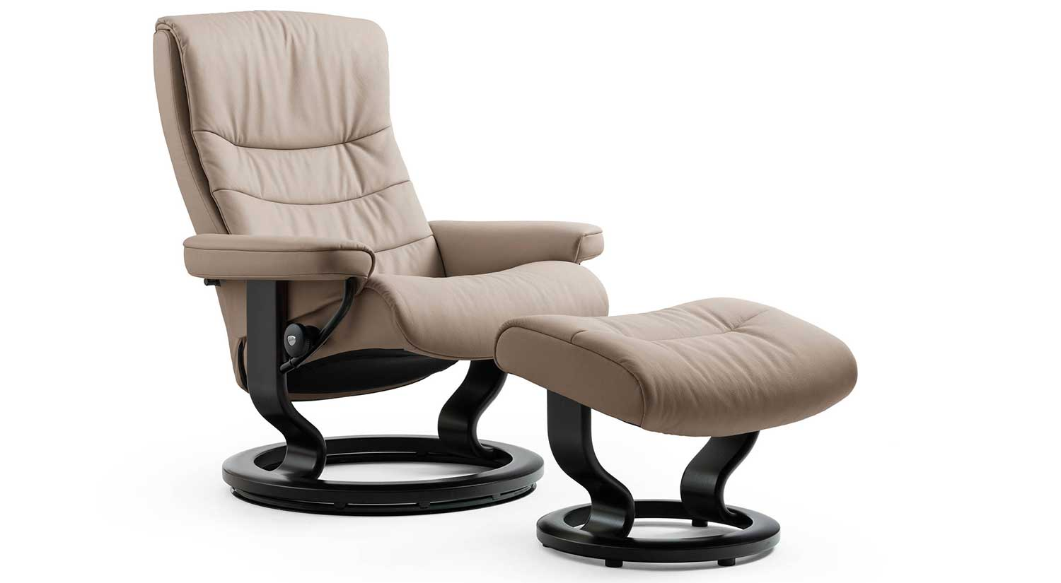circle furniture nordic stressless chair leather