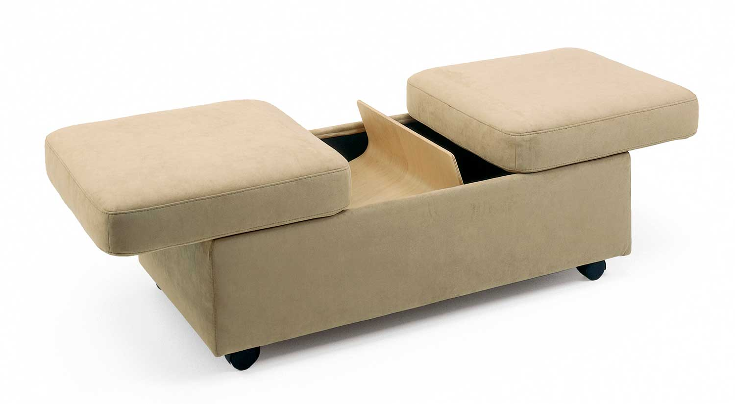 Circle Furniture - Stressless Double Ottoman | Storage Ottomans MA