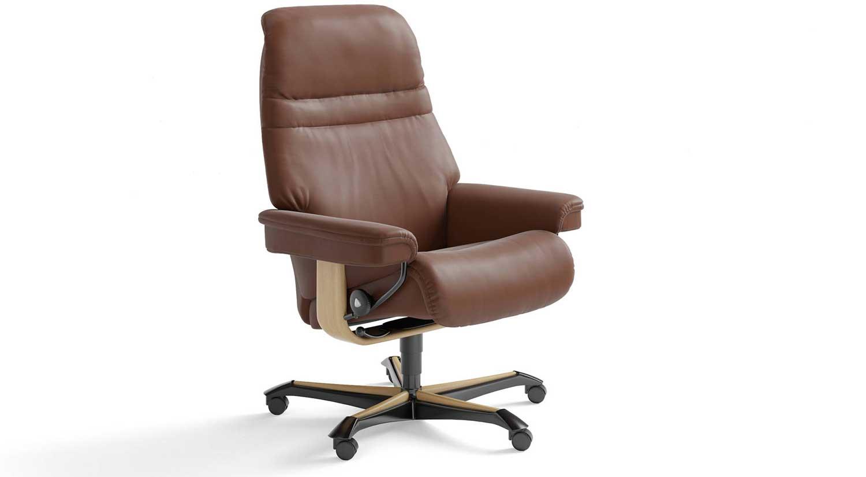 Circle Furniture Stressless Sunrise Office Chair
