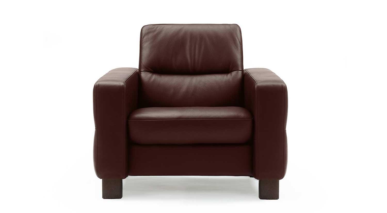 Circle Furniture Wave Stressless Lowback Chair Modern