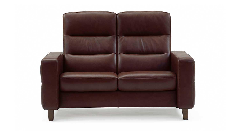 Circle Furniture Wave Stressless Highback Loveseat