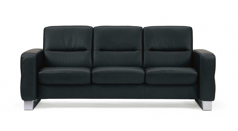 Circle Furniture Wave Stressless Lowback Sofa Modern