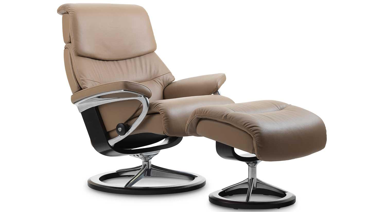 Circle furniture capri stressless recliner for Stressless chair