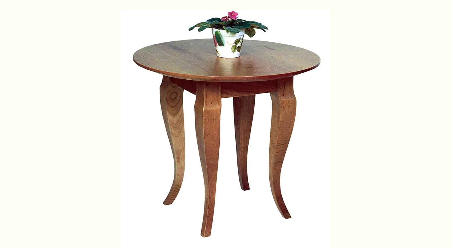 Circle Furniture French Country End Table Accent