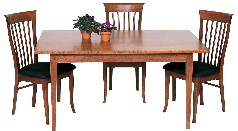 Circle furniture taper leg table dining ma circle for Circle furniture dining tables