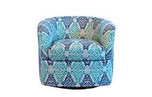 Omni Swivel Chair in Blue