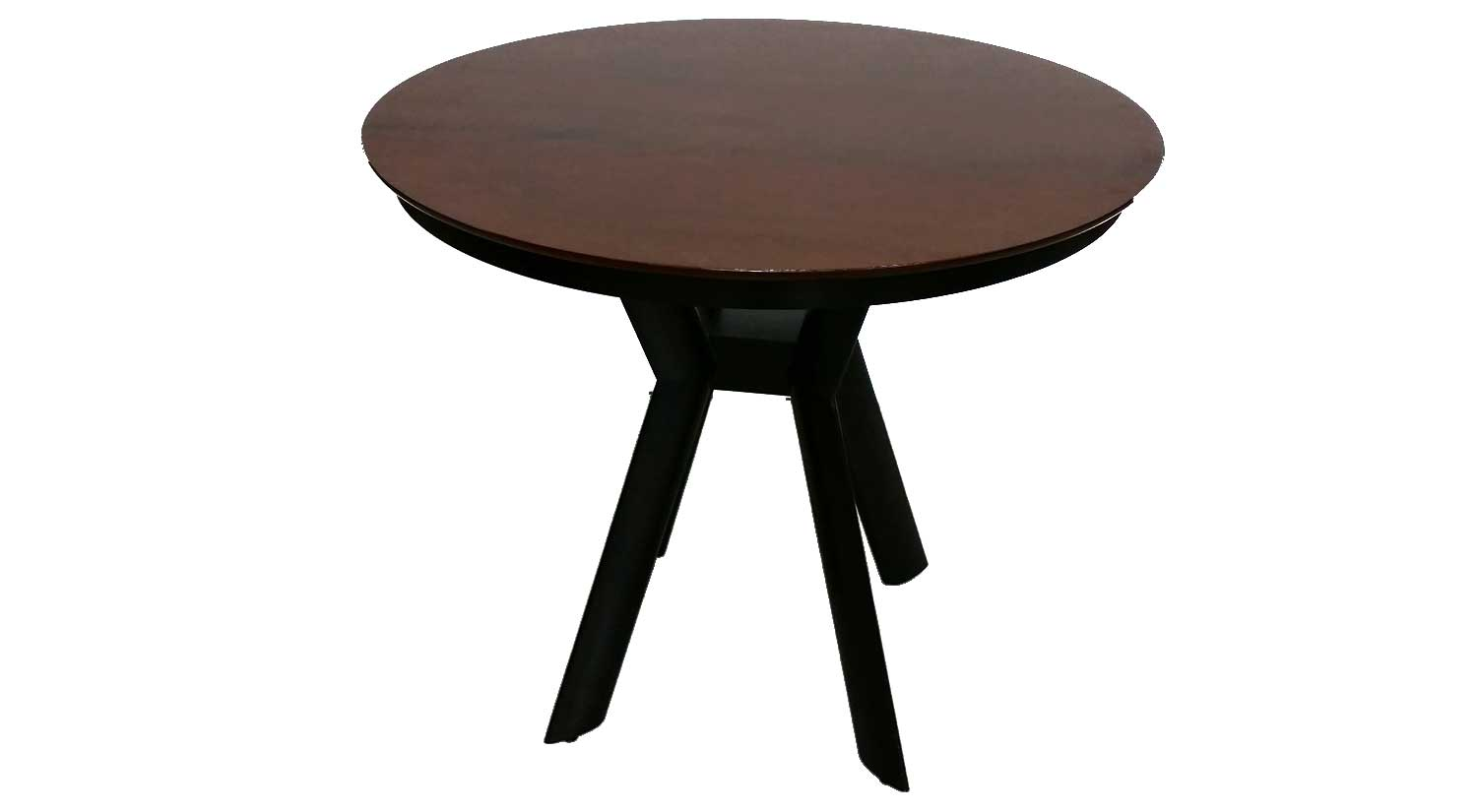 Circle furniture maple bar height table pub tables circle kbase bar table in harvest watchthetrailerfo