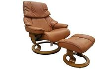 Reno Large Stressless Chair in Amarone
