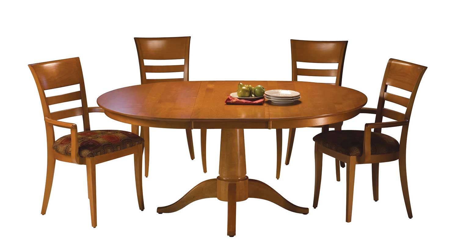 Circle furniture chelsea dining table pedestal tables for Circle furniture dining tables