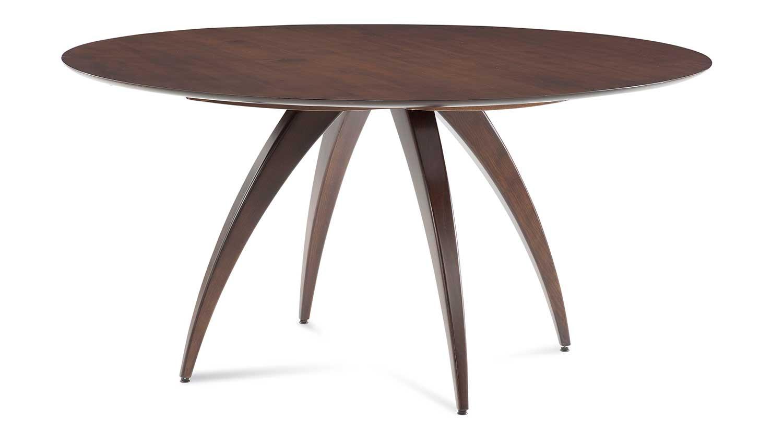 Circle furniture ella dining table modern dining table for Circle furniture dining tables