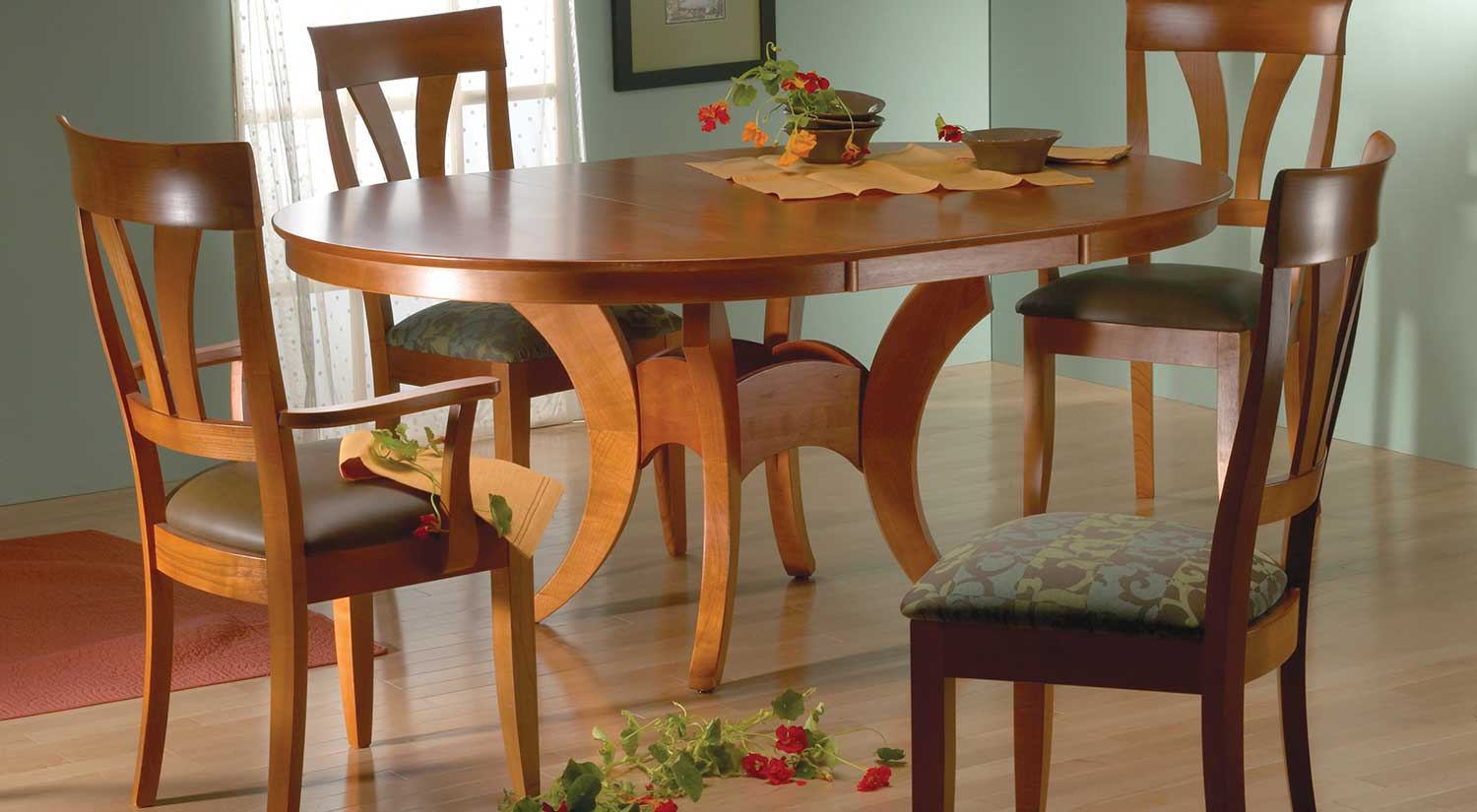 Circle Furniture Crescent Dining Table Dining Tables