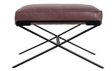 Dasha Ottoman in Purple