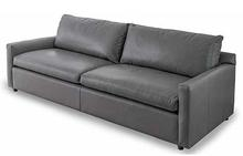 Brattle Sofa in Smoke Leather