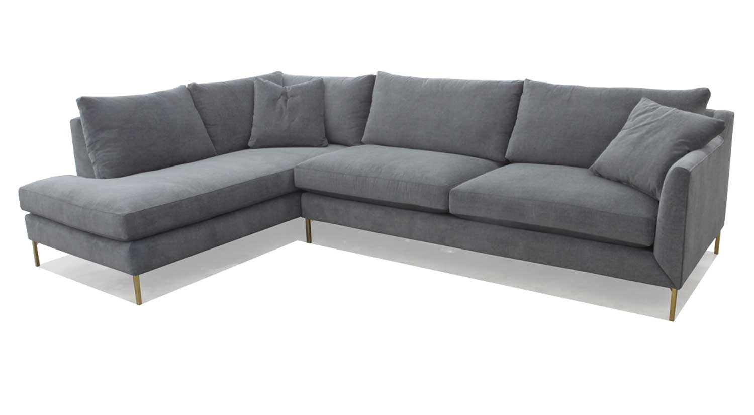 Awe Inspiring Circle Furniture Davis Sectional Chaise Sectional Gmtry Best Dining Table And Chair Ideas Images Gmtryco