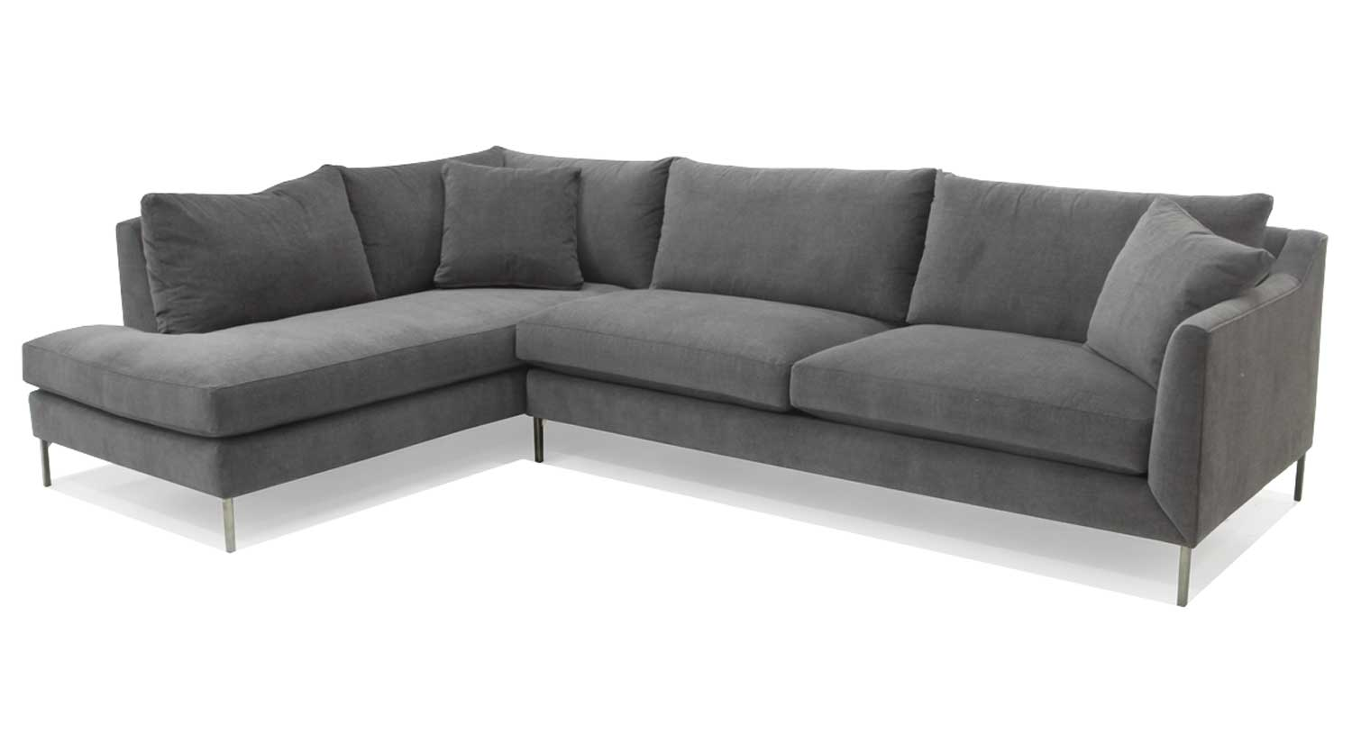 Admirable Circle Furniture Davis Sectional Chaise Sectional Gmtry Best Dining Table And Chair Ideas Images Gmtryco