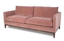 Porter Sofa with Wood Base