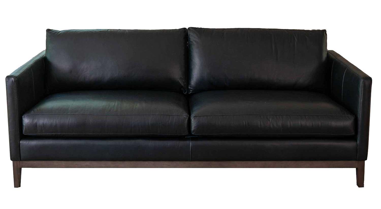 Porter Sofa With Wood Base