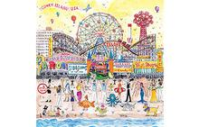 Michael Storrings Summer at The Amusement Park 500 Piece Jigsaw Puzzle - Sold Out