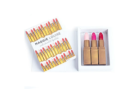 Maggie Louise Lipstick Trio Chocolates
