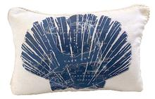 Cape Cod and the Islands Scallop Pillow