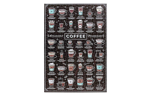 Ridley's Coffee Lover's 500 Piece Jigsaw Puzzle - Sold Out