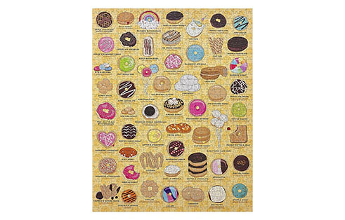 Ridley's Donut Lover's 1000 Piece Jigsaw Puzzle - Sold Out