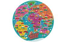 Ridley's Street Food Lovers's 1000 Piece Jigsaw Puzzle