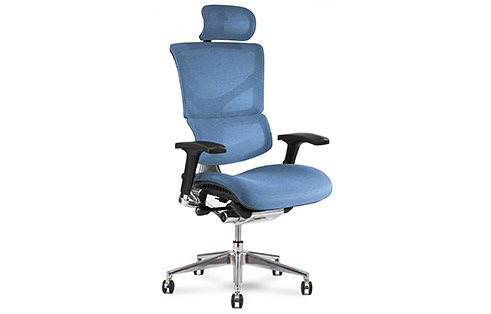 X3 ATR Mgmt Office Chair in Blue