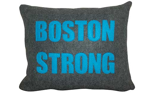 Boston Strong Pillow