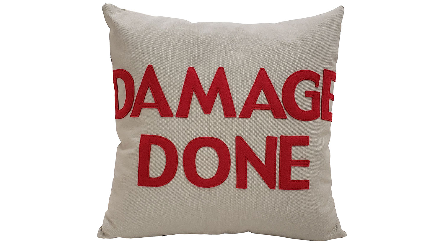 Damage Done Pillow