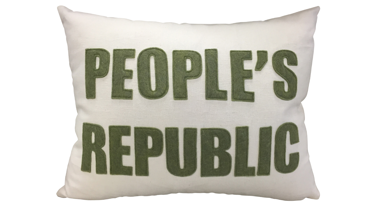 People's Republic Pillow