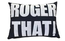 Roger That! Pillow