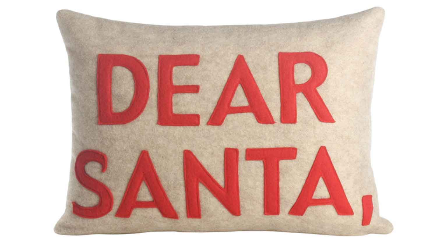 Dear Santa Pillow