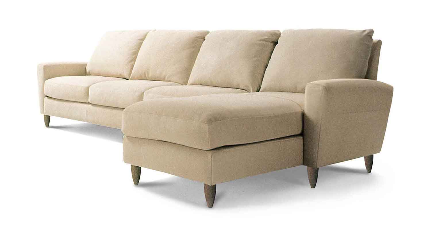 Stupendous Circle Furniture Bennet Sectional Modern Sectionals Boston Pdpeps Interior Chair Design Pdpepsorg