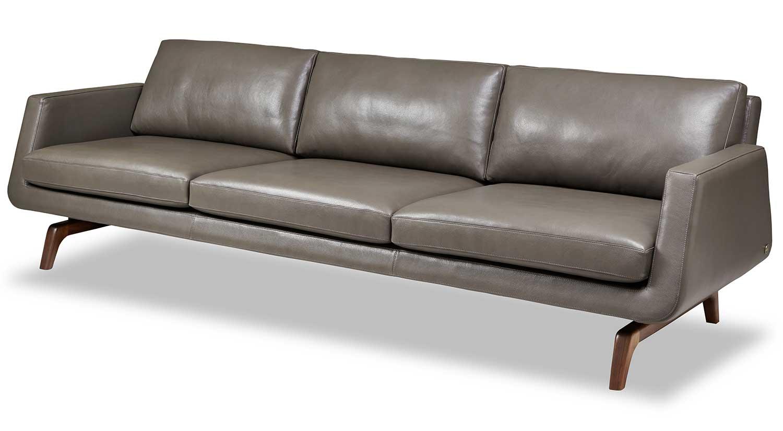 Circle Furniture - Nash Sofa | Leather Sofa | Contemporary Furniture ...