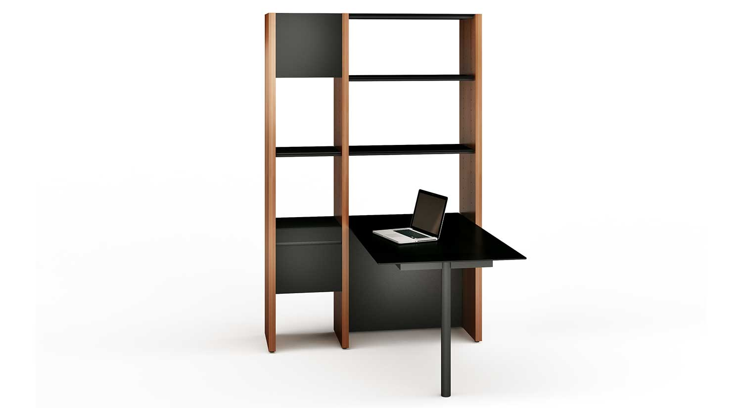 Semblance Office with Peninsula Desk