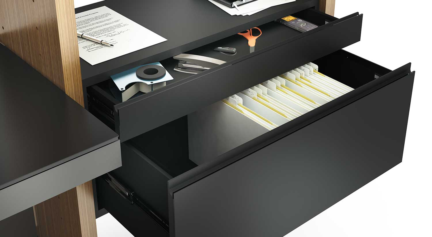 Semblance Office with Inline Desk